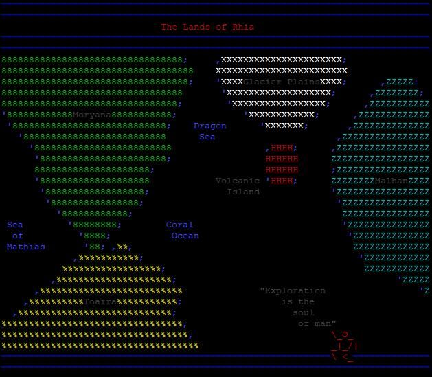 Map of Rhia